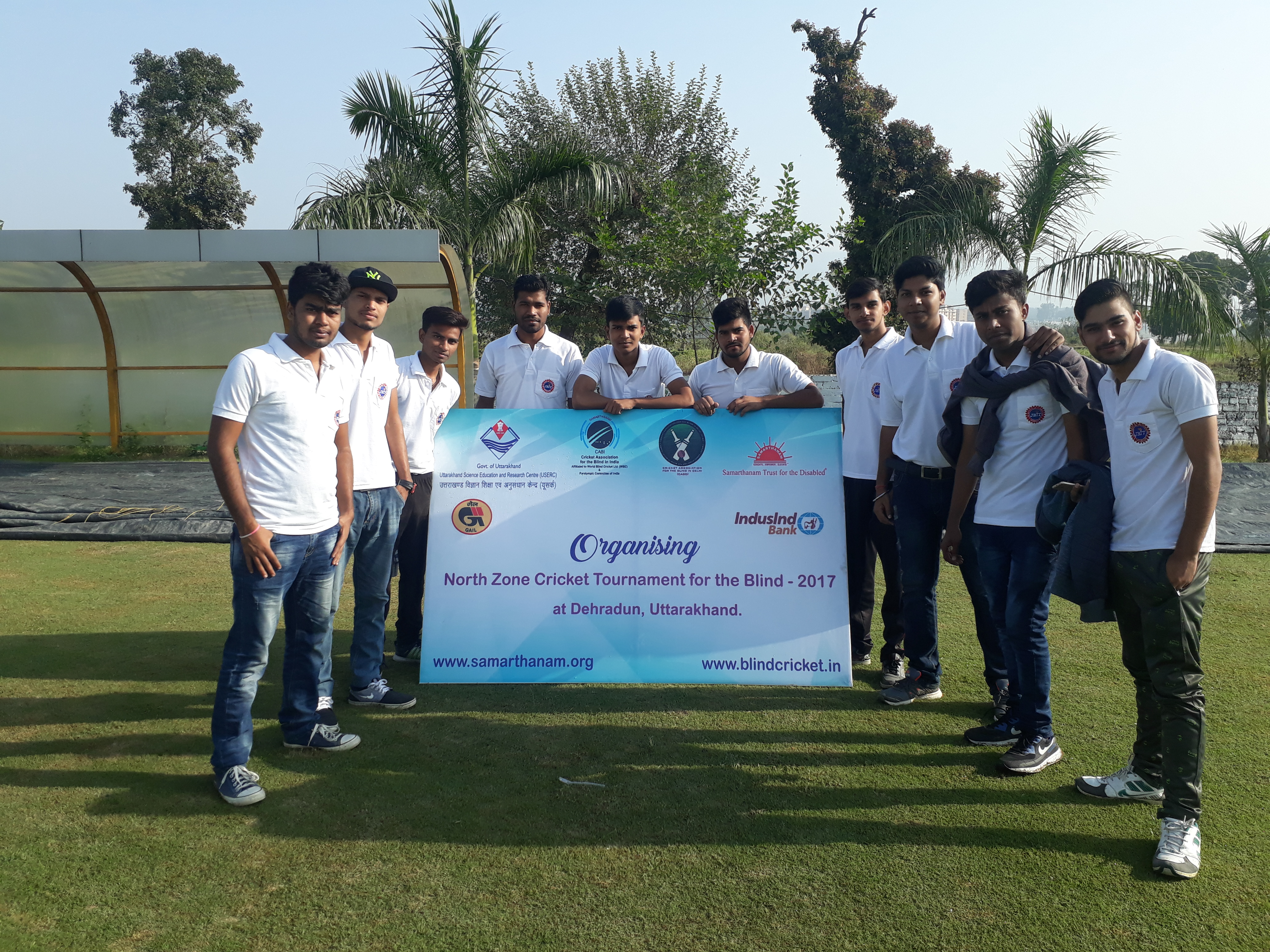 North Zone Cricket Tournament for Blind 2017
