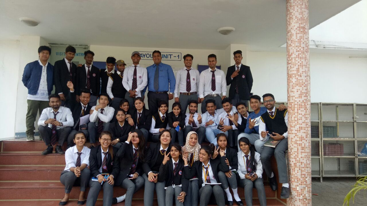 Industrial Visit of BBA Students at IPCA Laboratories Ltd