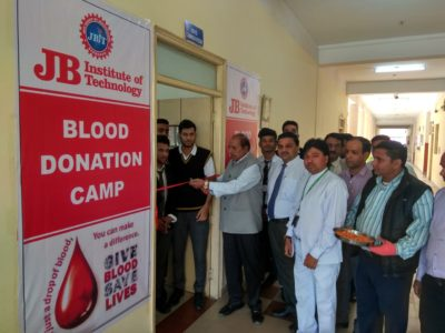 Blood Donation Camp @ JBIT