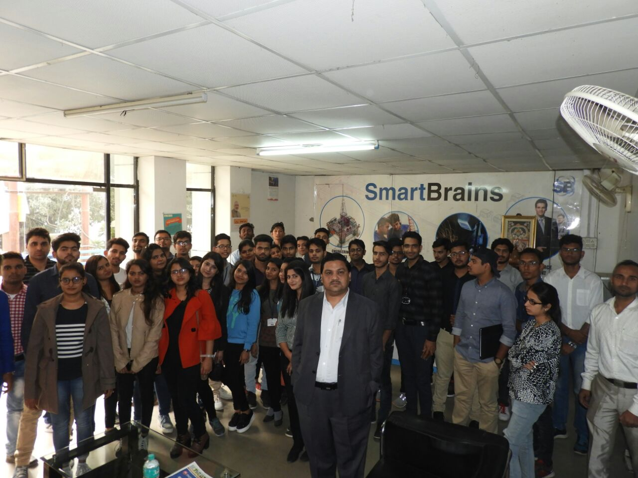 Industrial visit Smart Brain, Noida