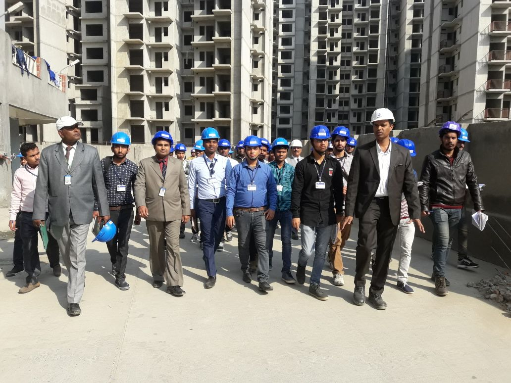 An Industrial Visit was organised for B.Tech(Civil)-II and III Year students at BCC Ghaziabad organised on 22.11.17