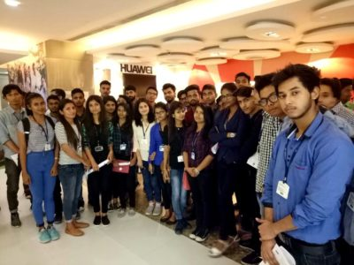 Industrial Visit was organized for B.Tech(CS)-IInd Year Students